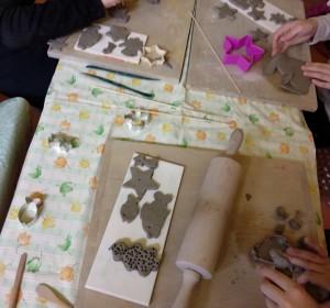Keramika - 1   Krúžky v škole