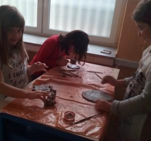 Keramika - 2   Krúžky v škole